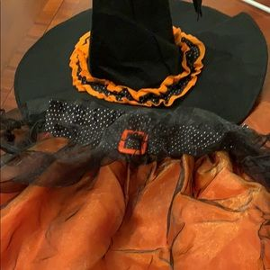 Pottery barn kids Halloween witches costume 7-8